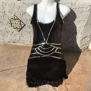 Gatsby / Flapper Dress S